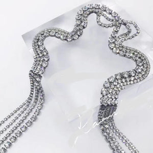 Long Crystal Choker