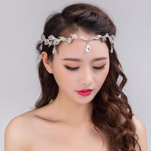Waterdrop Crystal Headband