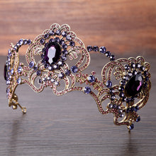 Purple Crystal Diadem