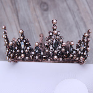 Vintage Bead Crown