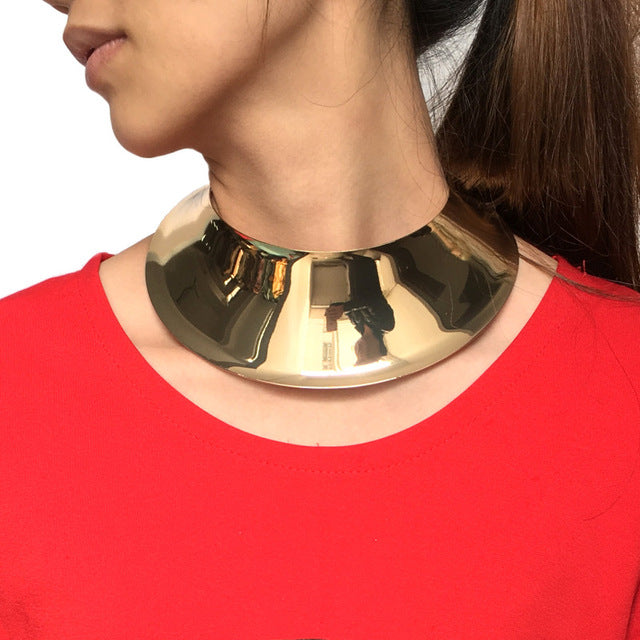 Geometric Collar Choker