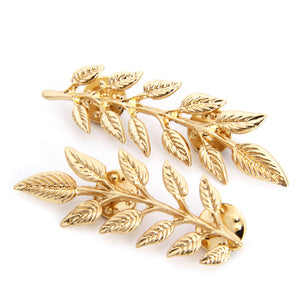 Leaf Branch Brooch
