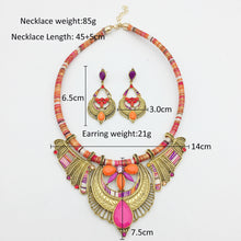 Bohemia Butterfly Tribal Necklace