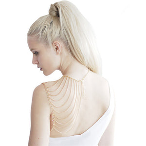 Crossover Tassel Body Jewelry