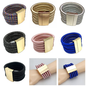 Chic Coils Multilayer Bracelets