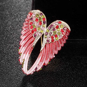Angel's Wings Brooch