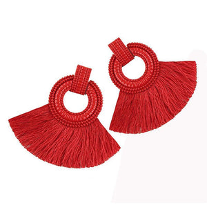 Dangle Circle Earrings
