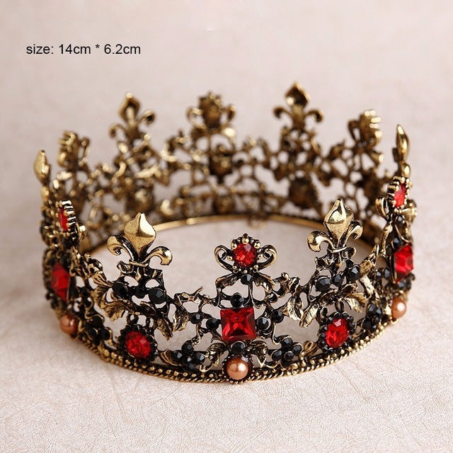 Baroque Luxury Crown