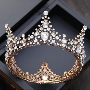 Baroque Crystal Crown