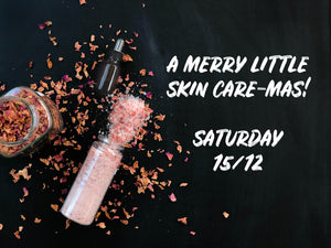 A Merry Little SkinCare-mas