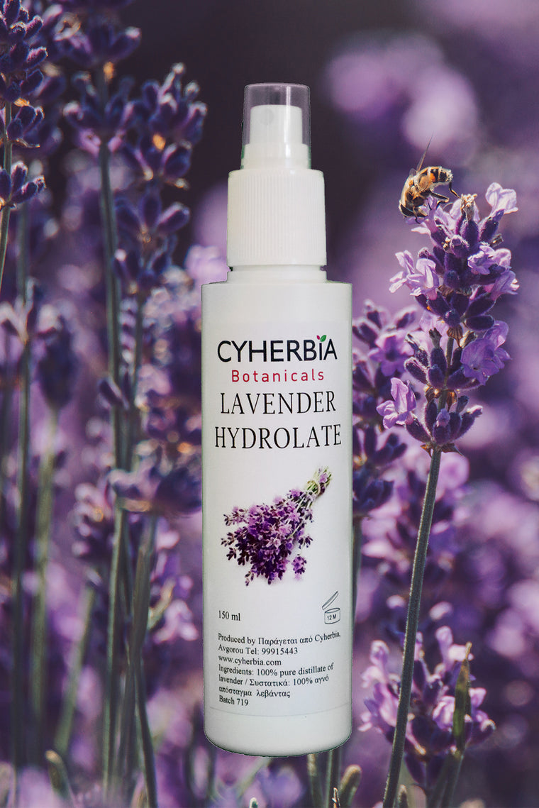 lavender hydrolate face tonic spray cyherbia botanical park and labyrinth theme park cyprus