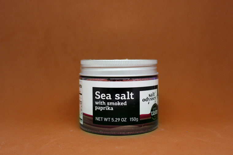 Sea Salt with smoked paprika