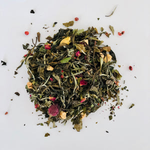 White Tea with Rose and Raspberry