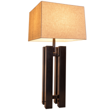 4 Post Table Lamp