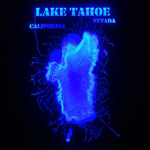 Illuminated Lake Tahoe