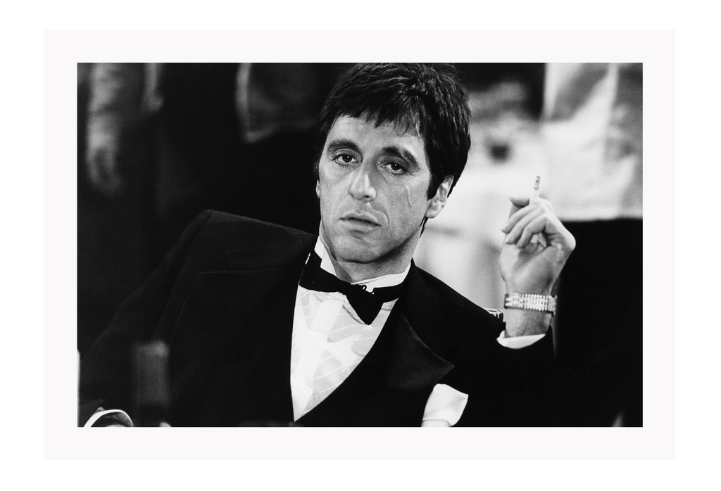 al pacino scarface photo iconic movies framed art print wall decor