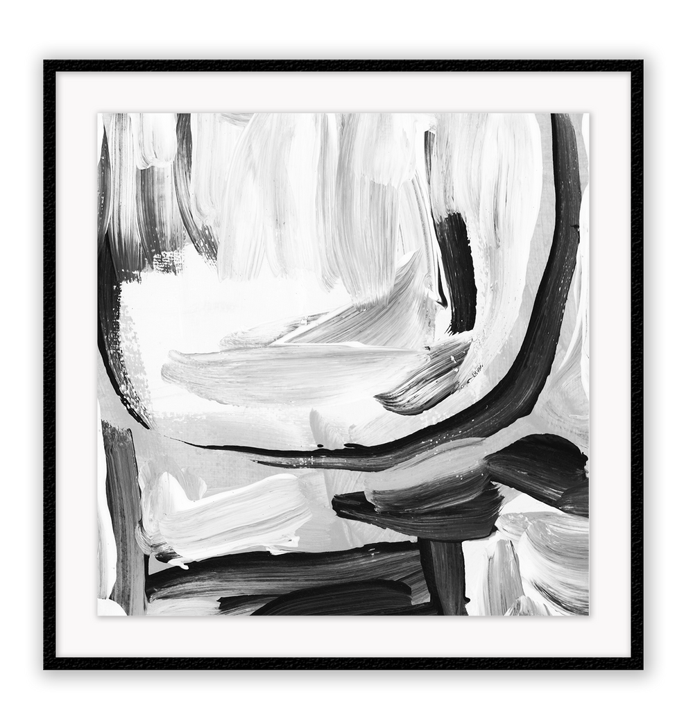 black and white abstract art framed paint  Homeware Furniture Interior Design 2019 Mordern Ideas - Canvas Home Interiors Sydney | Melbourne