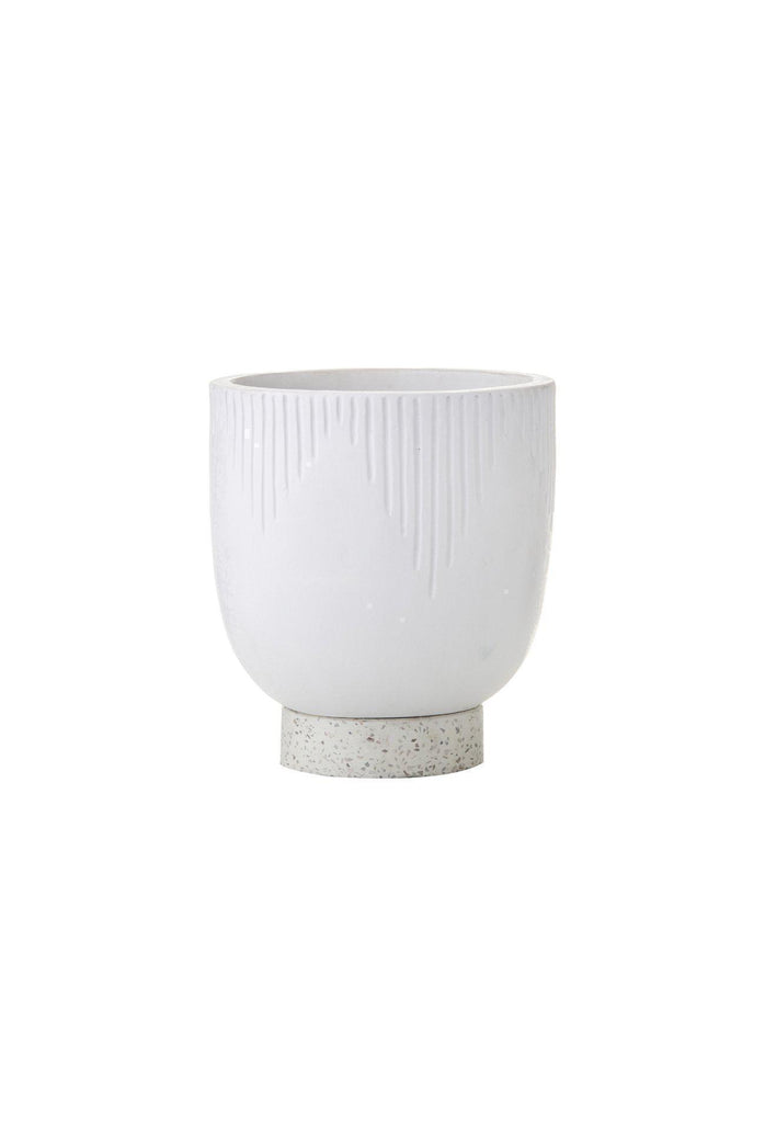 Aria Planter - White