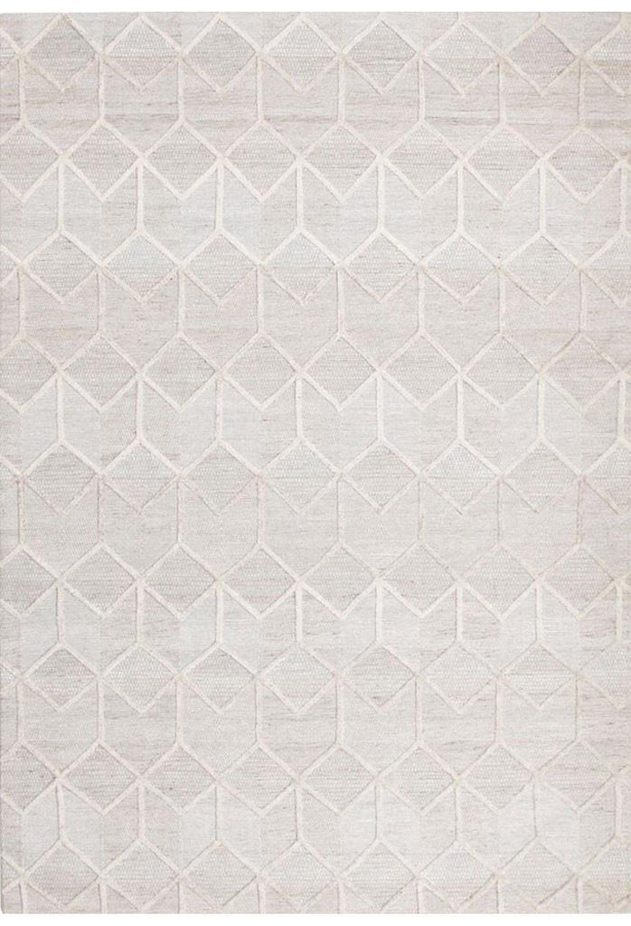 Diamond Vision Rug - White