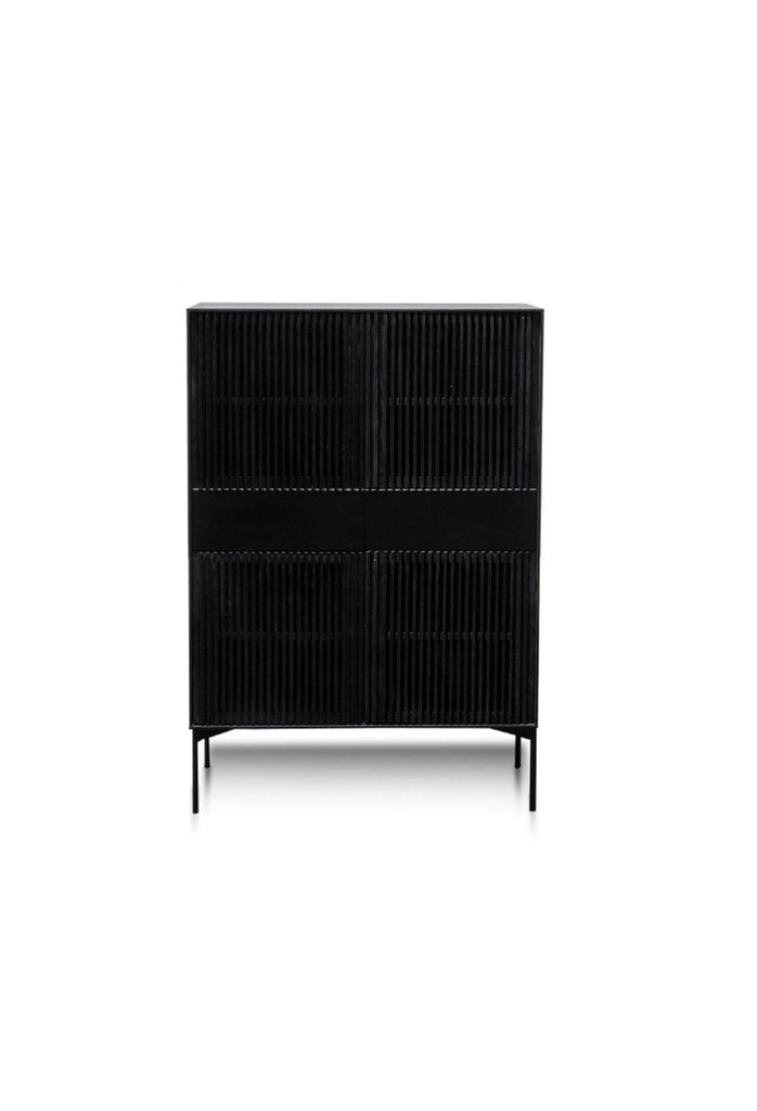 Doris Cabinet - Black Oak