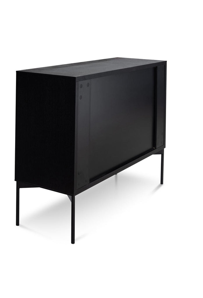 Duvan Sideboard Unit - Black Oak