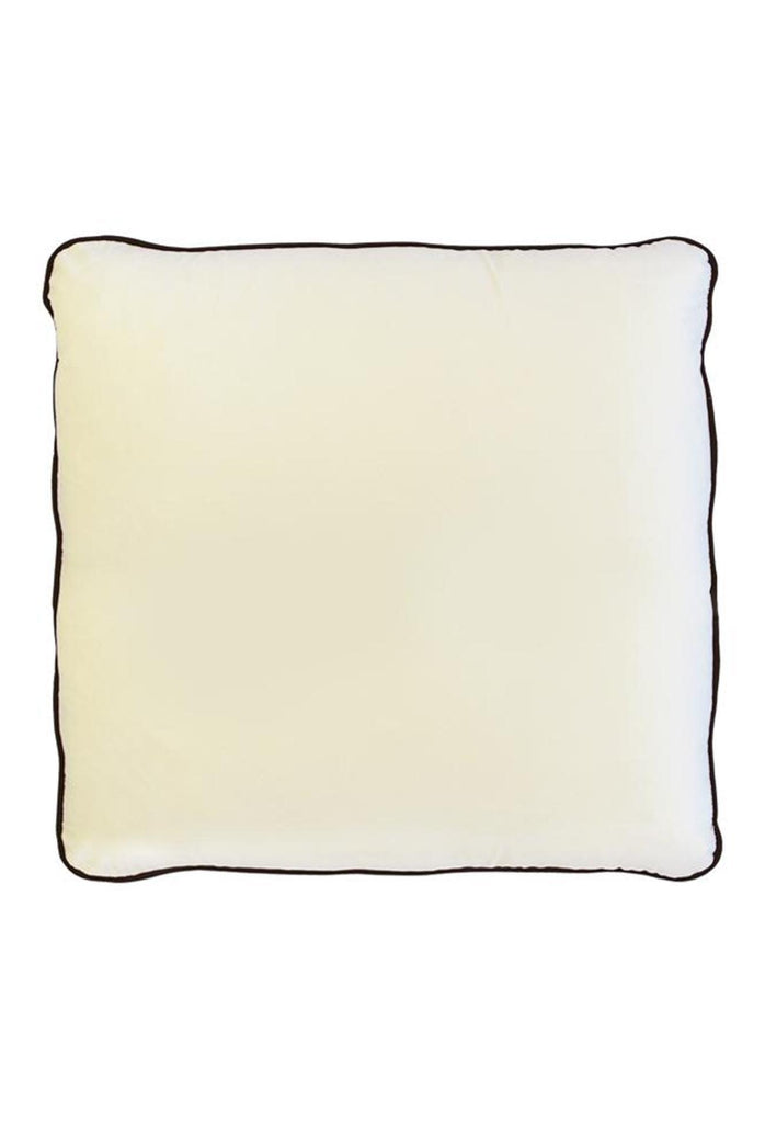 Coco Piped Cushion - Ivory