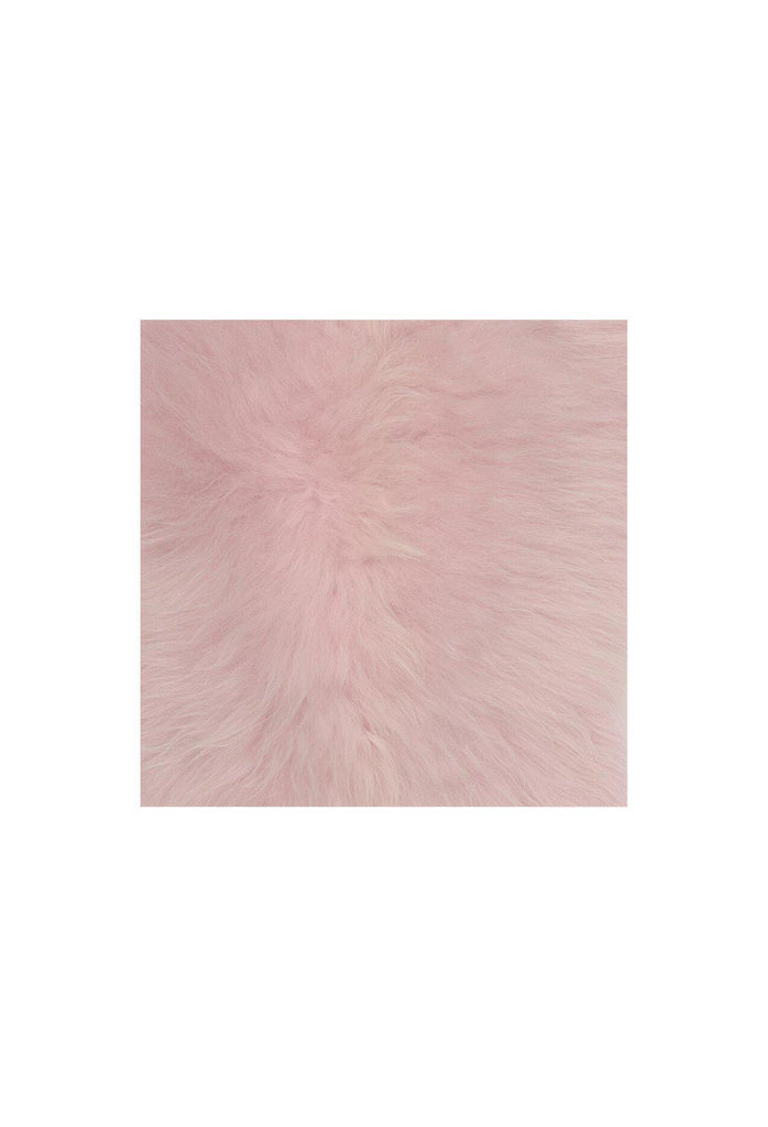 Iceland Throw Rug - Dusty Pink