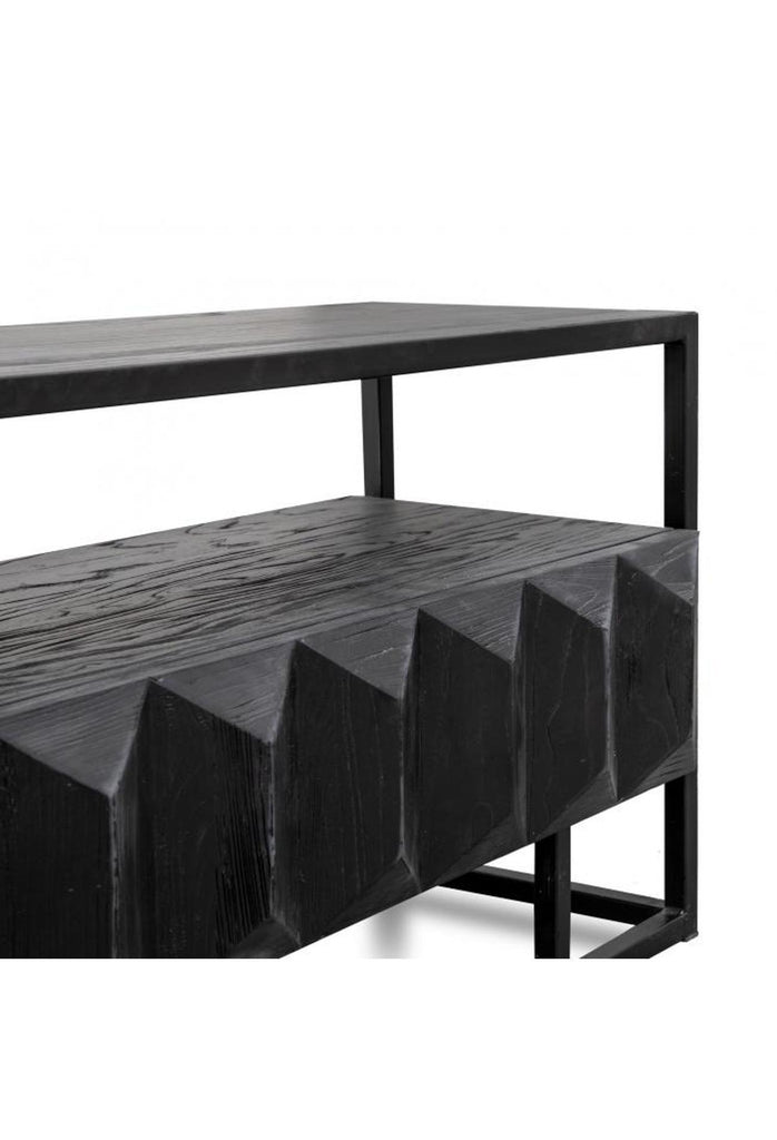 Liam Entertainment TV Unit Black