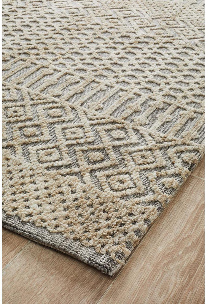 Lucinda Sylvia Natural Grey Rug