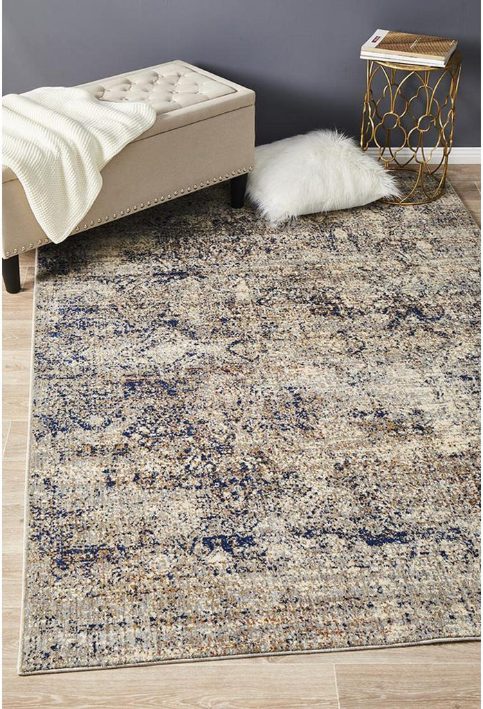 Opus Rug-Distressed Blue
