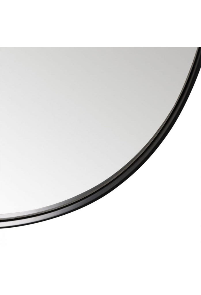 Gabriel Oval  Mirror - Black