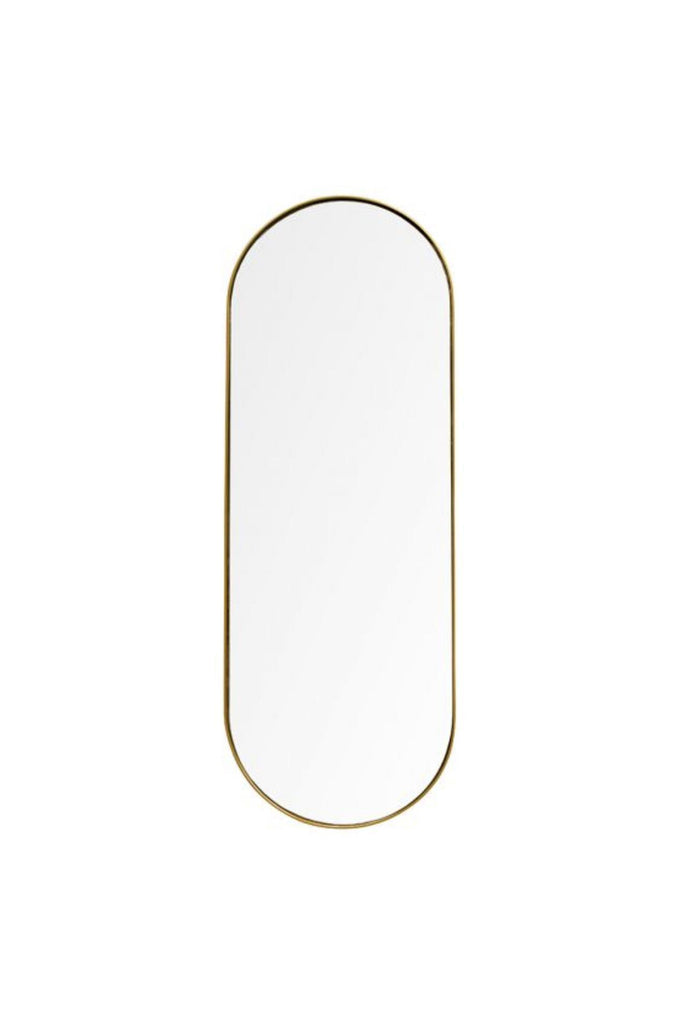 Gabriel Oval Mirror - Gold