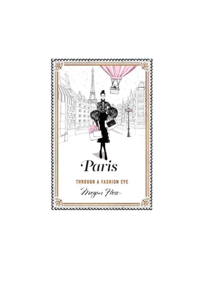 Paris through a fashion eye Book
