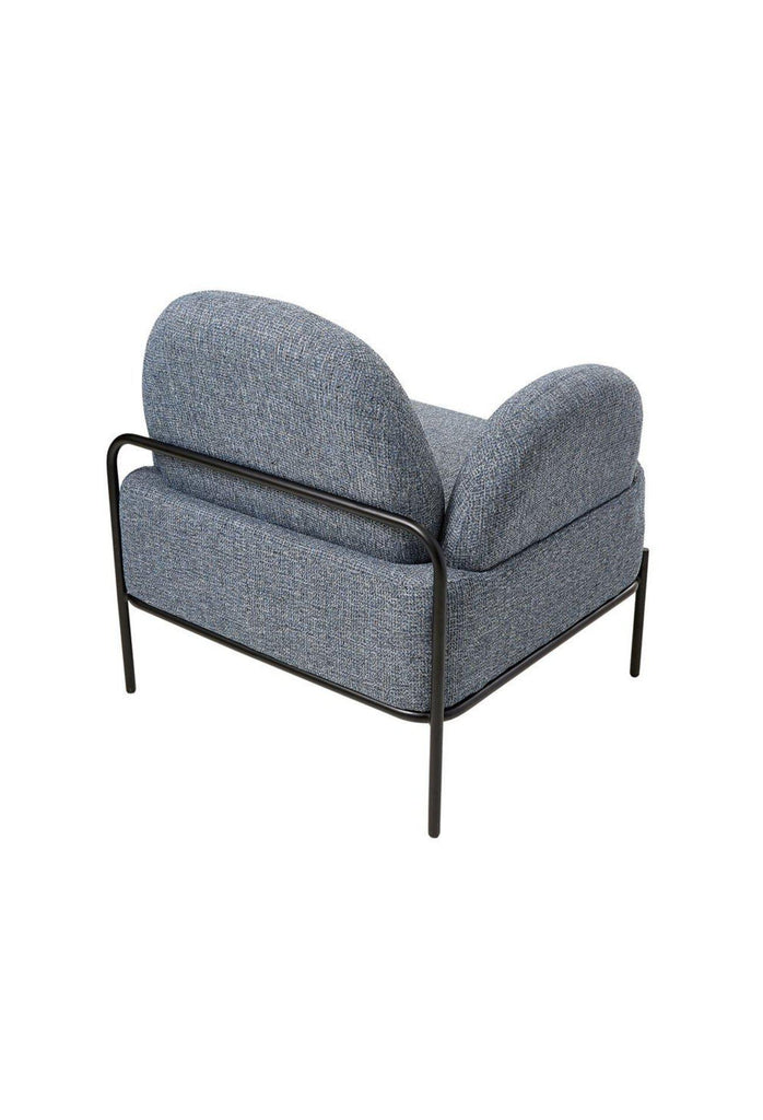 Pio Chair in Taupe –  Blue Grey