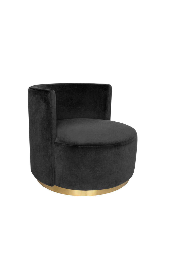 Ruby love seat - Black