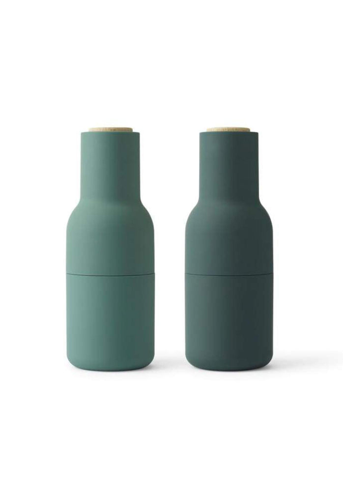 Salt & Pepper Grinder Set Green