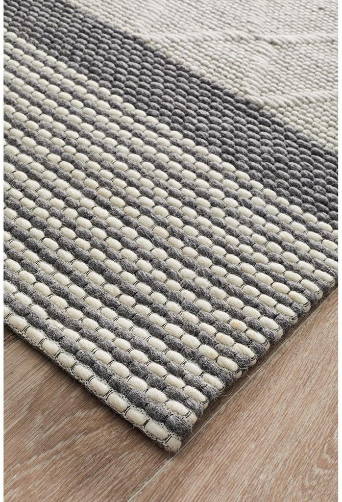 Sudi Karlsson Wool Hatch Textured Rug