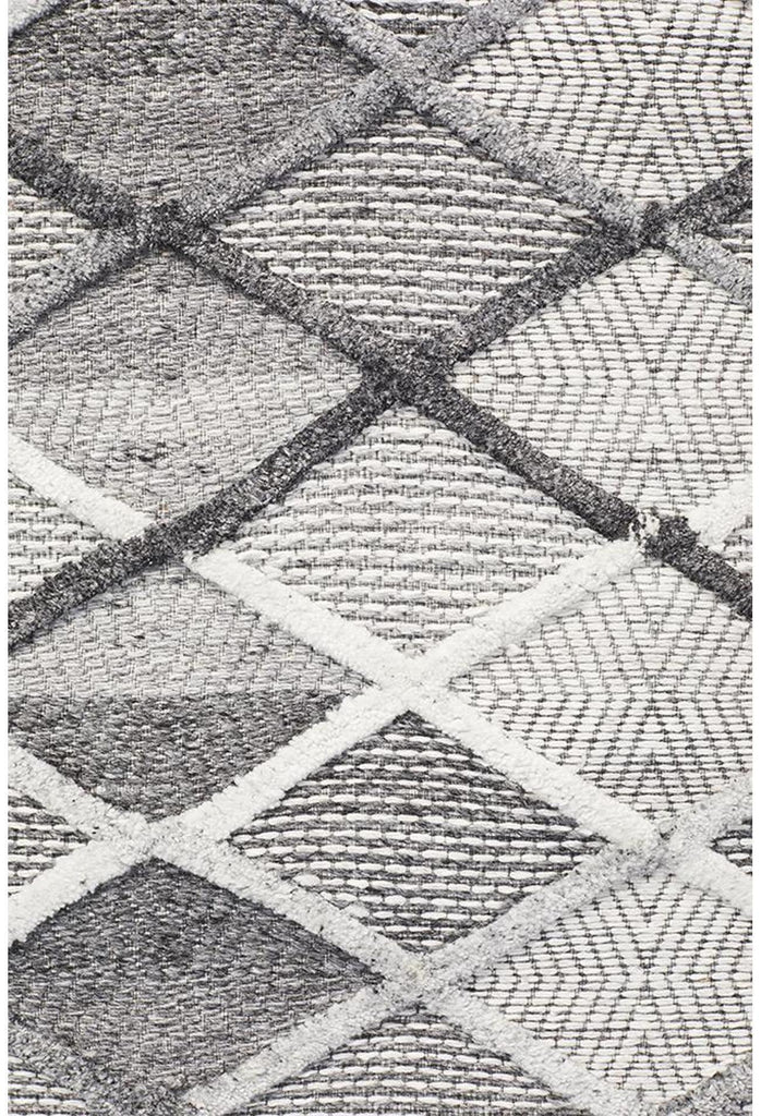 Vicenza Winter Grey Gravel Modern Rug