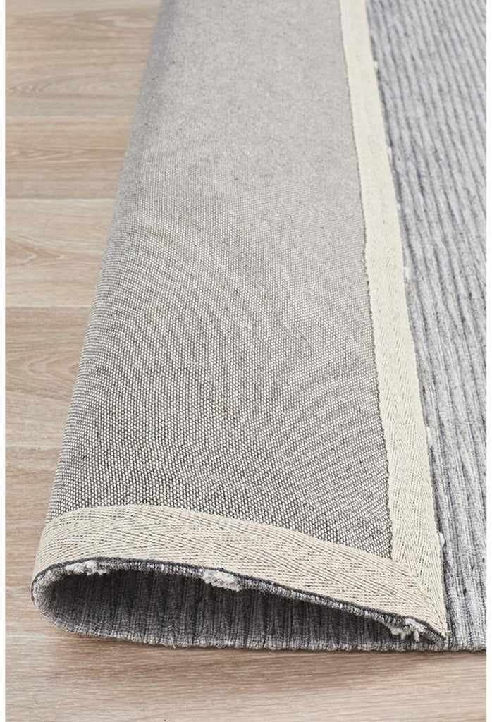 Vicenza Winter Grey Pulse Modern Rug