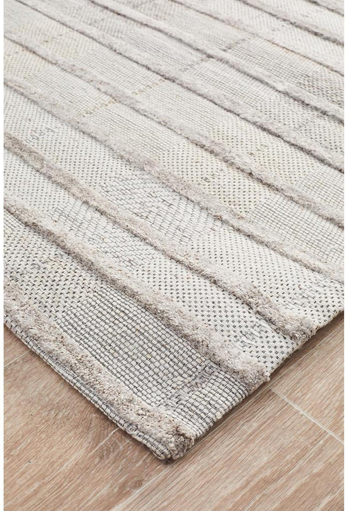Vicenza Winter Majestic Dove Modern Rug