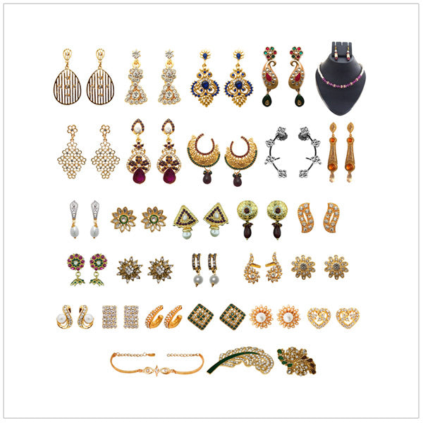 14Fashions Set of 29 Jewellery Combo