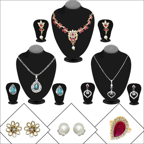 14Fashions Set of 6 Jewellery Combo