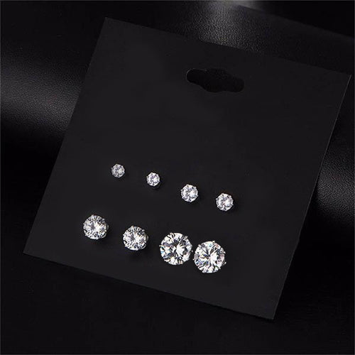 14Fashions Set of 4 Earrings Combo