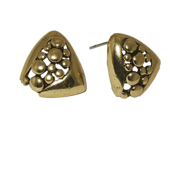 Jeweljunk Golden Studs Earrings