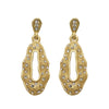 Beadside Austrain Stone Gold Plated Dangler Earrings