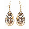 Jeweljunk Austrian Stone Gold Plated Dangler Earring