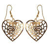 Jeweljunk Gold Plated Austrian Stone Dangler Earring