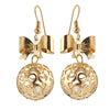 Jeweljunk Austrian Stone Gold Plated Dangler Earrings