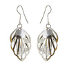 Jeweljunk Stone Rhodium Plated Dangler Earring