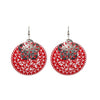 The99Jewel Zinc Alloy Silver Plated Dangler Earring